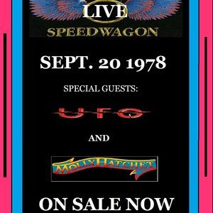 2 - REO SPEEDWAGON - SEPT 20, 1978 POSTERS 11 X 17